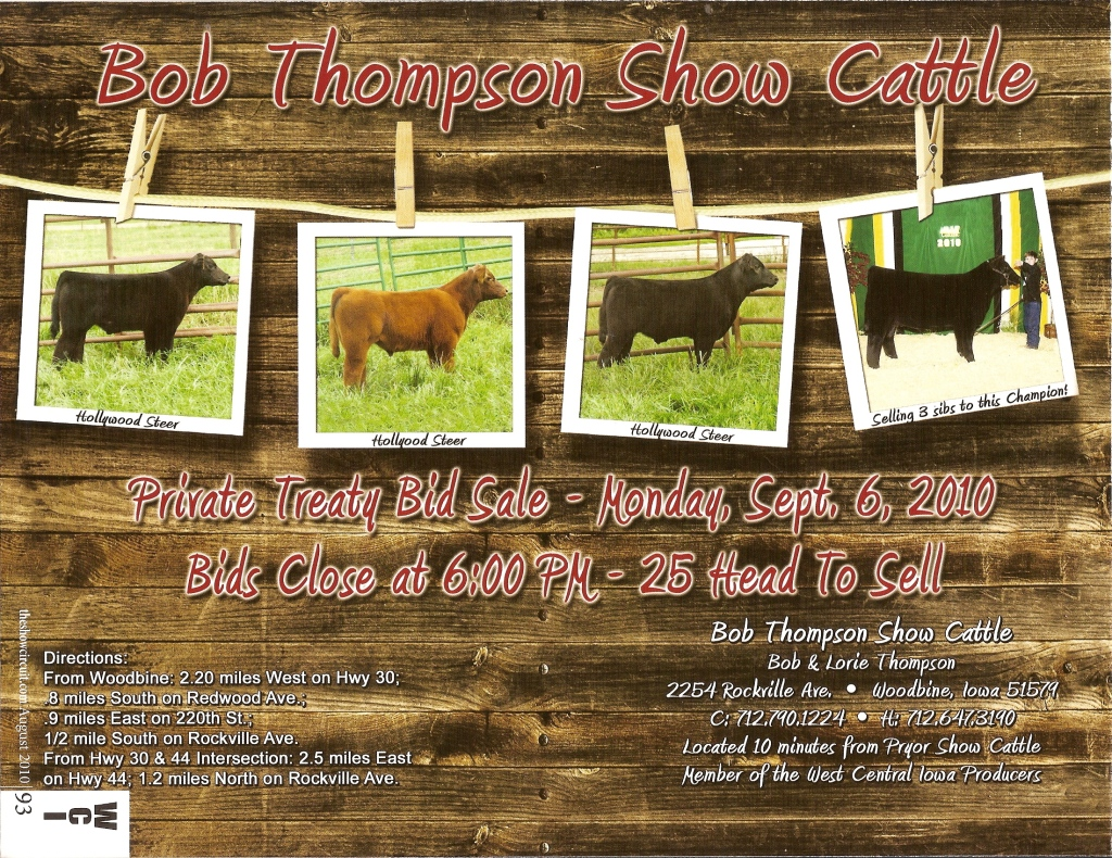 2010 Calf Sale