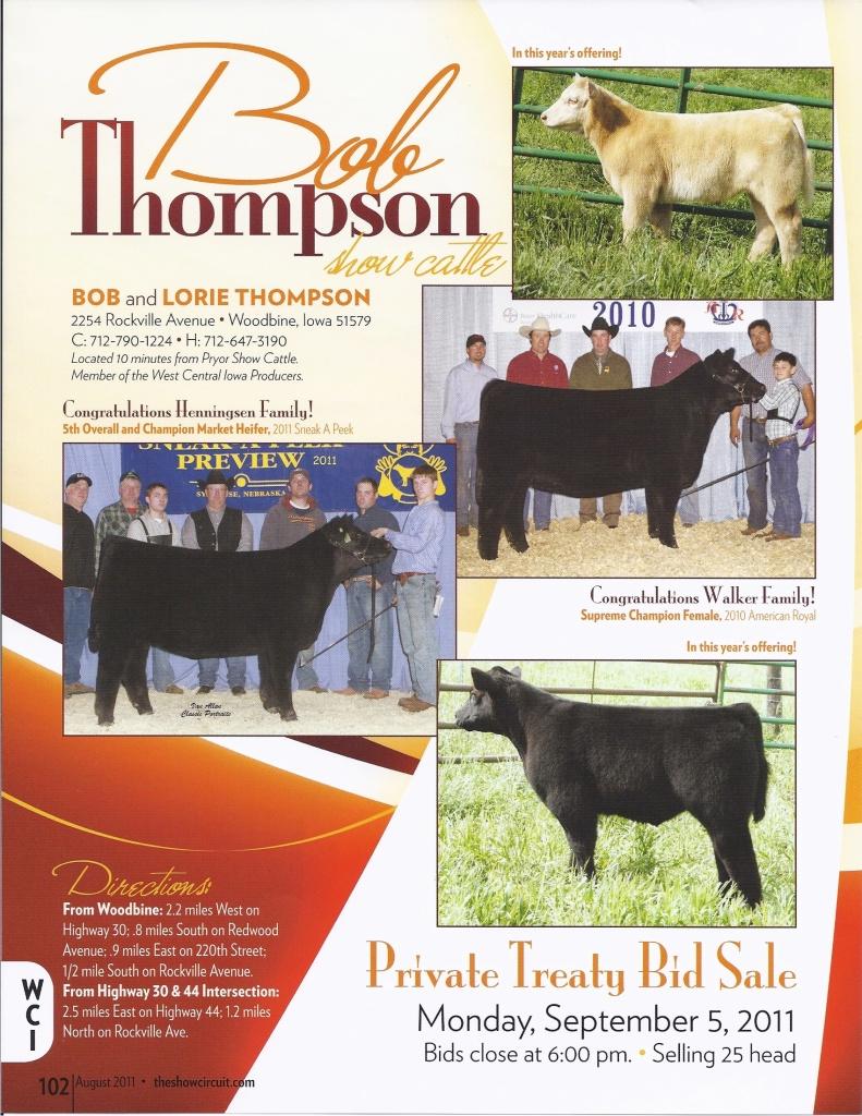 2011 Calf Sale